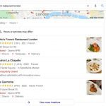 Google My Business Restaurant Listings